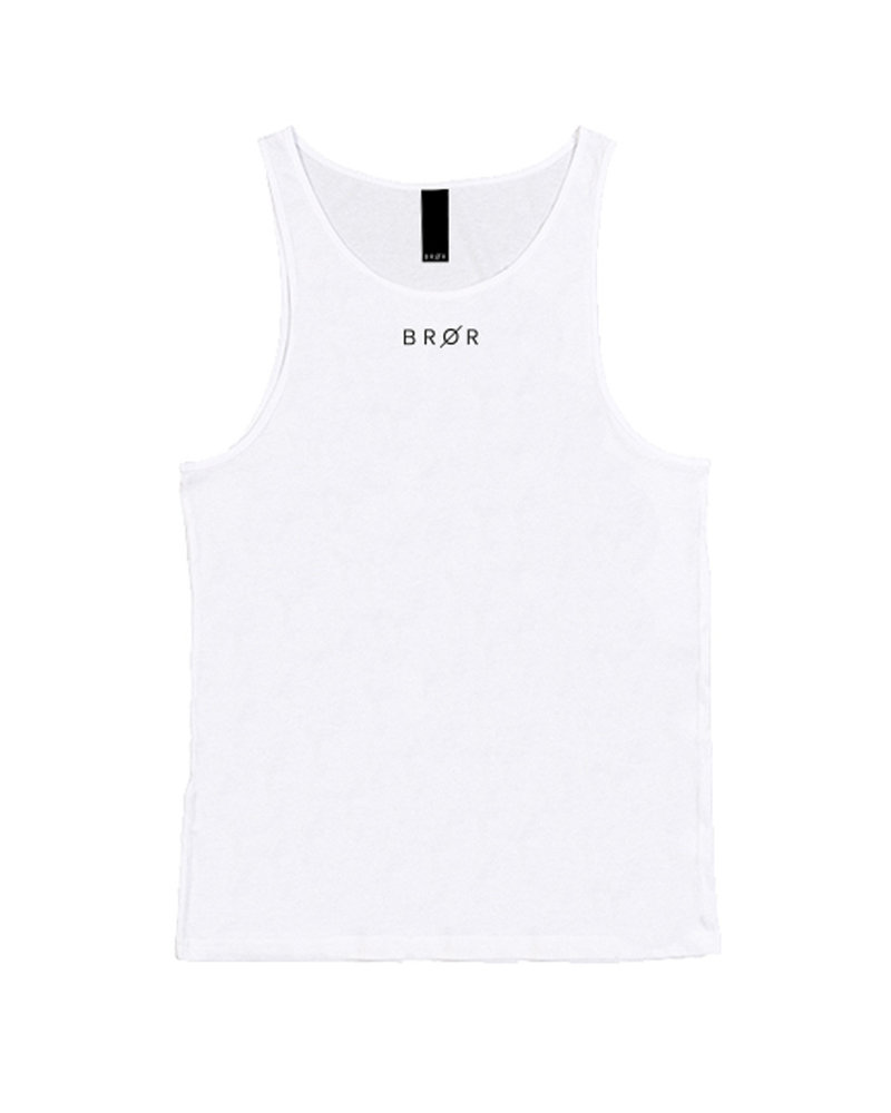 BROR White Tank Top