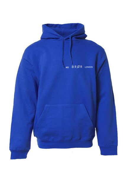 BROR Blue hoodie London