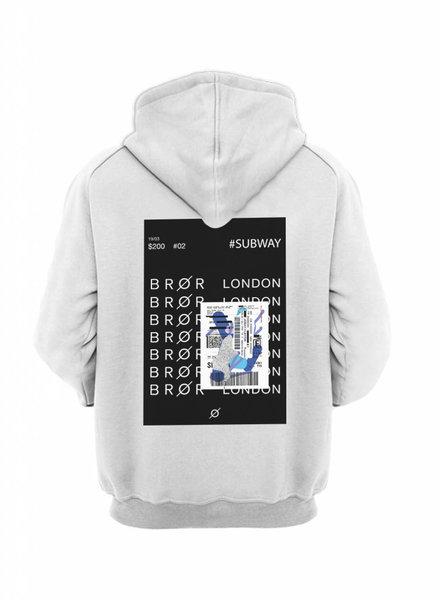 BROR White hood London ticket