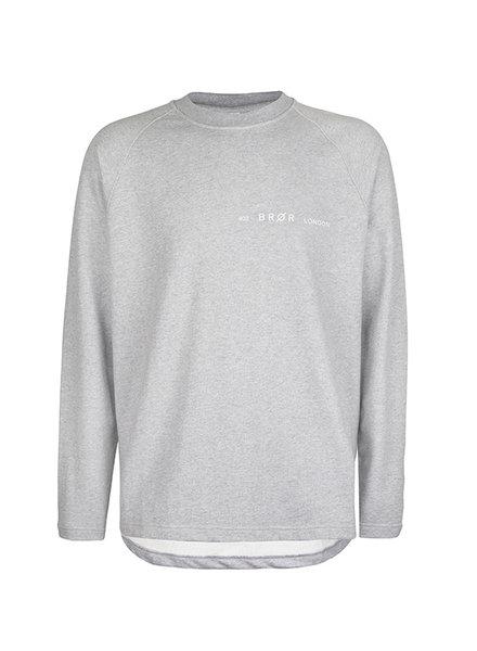 BROR Grey London Sweater