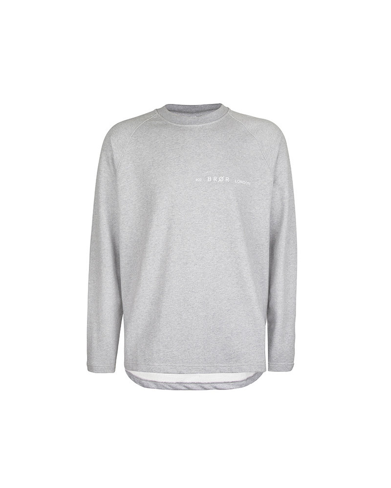 BROR Grey London Sweater