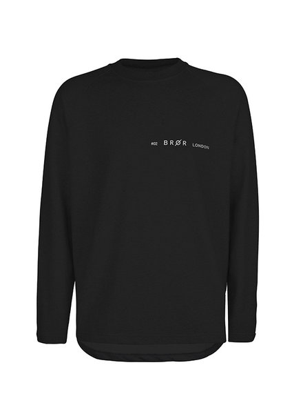 BROR Black London Sweater