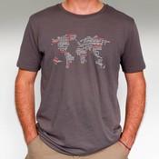 Discover Overland - T-shirt Grijs