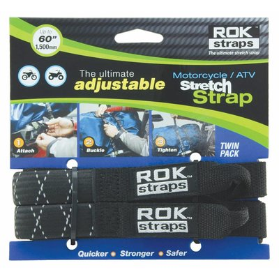 ROKstraps Adjustable Motorcycle/ ATV Straps Large