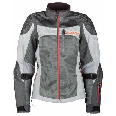 KLIM Avalon Women's Motorcycle Jacket - Light Gray