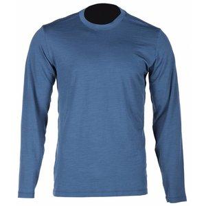 KLIM Teton Merino LS Shirt - Blue