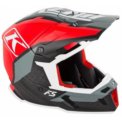 KLIM F5 Off-Road Helm - Ion Red