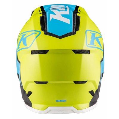 KLIM F5 Off-Road Helmet - Ion Green