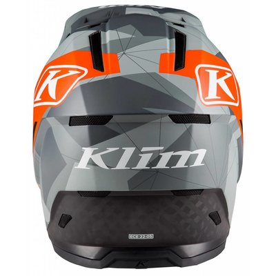KLIM F5 Off-Road Helm - Camo Orange