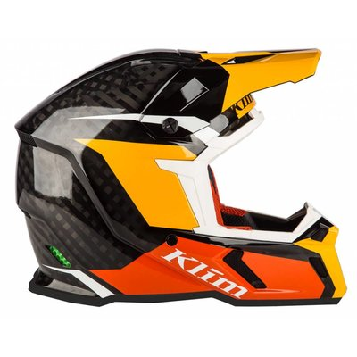 KLIM F5 Koroyd Off-Road Helmet - Chasm Orange