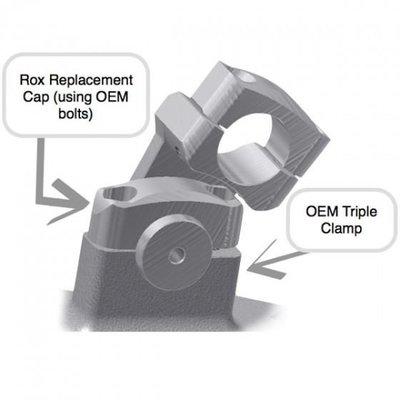 """ROX Speed FX Verstelbare Stuurverhogers 51mm (2"""") voor 32mm (1 1/4"""") Stuur"""