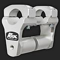 """ROX Speed FX Risers 51mm (2"""") for 28mm (1  1/8"""") Handlebars  (Extended stem)"""