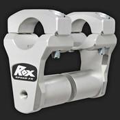 """ROX Speed FX Verstelbare Stuurverhogers 51mm (2"""") voor 28mm (1 1/8"""") Stuur (Verlengde Basis)"""