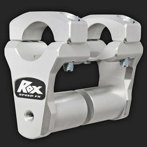 "ROX Speed FX Risers 51mm (2"") for 28mm (1  1/8"") Handlebars  (Extended stem)"