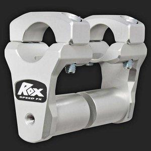 """ROX Speed FX Risers 51mm (2"""") voor 28mm (1 1/8"""") Stuur  (Verlengde Basis)"""