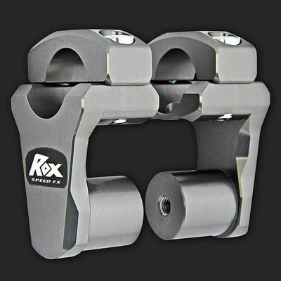 "ROX Speed FX Pivoting Handlebar Risers 51mm (2"") for 28mm (1 1/8"") Handlebars"