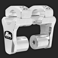 "ROX Speed FX Risers 51mm (2"") for 28mm (1  1/8"") Handlebars"