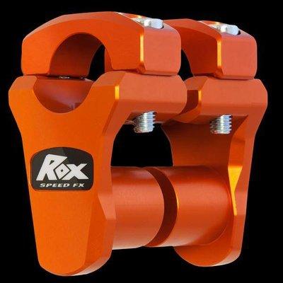 "ROX Speed FX Pivoting Handlebar Risers 45mm (1 3/4"") for 28 mm (1 1/8"") Handlebars"