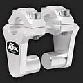 "ROX Speed FX Risers 51mm(2"") for 22mm (7/8"") Handlebars"