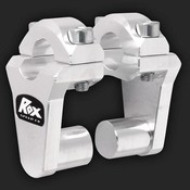 "ROX Speed FX Pivoting Handlebar Risers 51mm(2"") for 22 mm (7/8"") Handlebars"