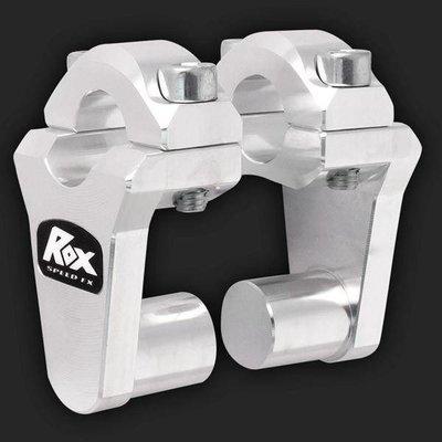 """ROX Speed FX Verstelbare Stuurverhogers 51mm(2"""") voor 22 mm (7/8"""") Stuur"""