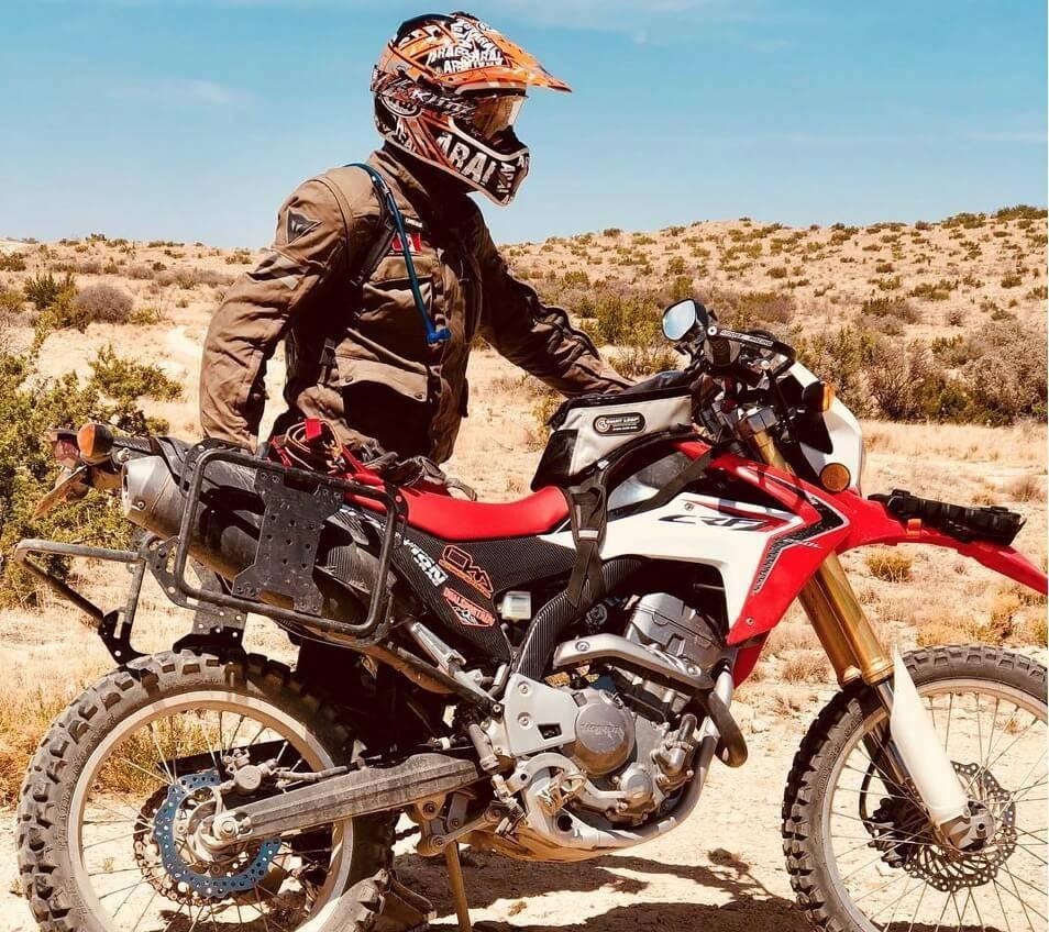 Outback Motortek Honda Crf250l Rally Pannier Racks Bartang