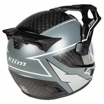 KLIM Krios Karbon Adventure helmet - Valiance Gray