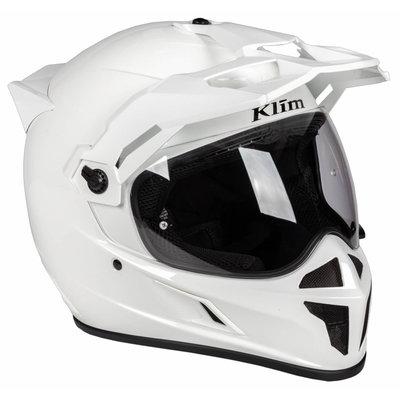 KLIM Krios Karbon Adventure helmet - Gloss White