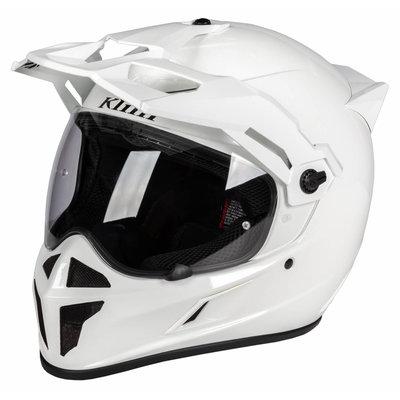 KLIM Krios Karbon Adventure Motorhelm - Gloss White