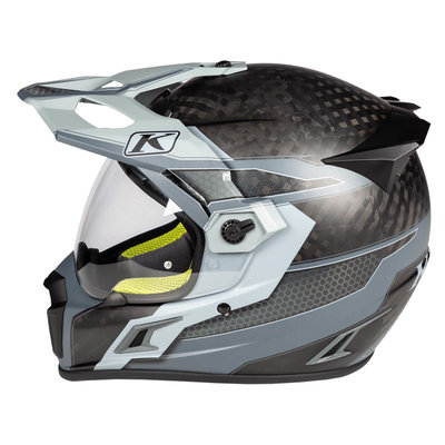 KLIM Krios Pro  Adventure Motorhelm - Arsenal Gray