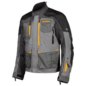 KLIM Carlsbad jacket - Asphalt Strike Orange (2020)