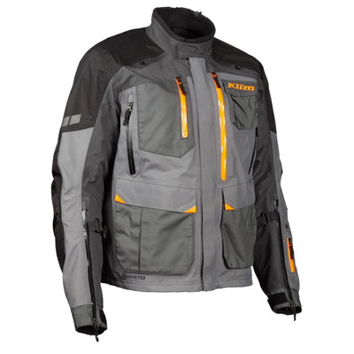 KLIM Carlsbad Motorcycle Jacket - Asphalt Strike Orange (2020)
