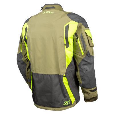 KLIM Badlands Pro Motorcycle Jacket - Sage-Hi-Vis