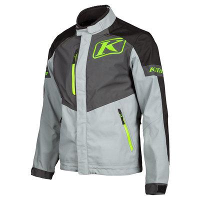 KLIM Traverse Motorcycle Jacket - Gray-Electrik Gecko
