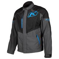 KLIM Traverse Jacket - Black-Kinetik Blue