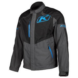 KLIM Traverse Jacket - Black-Kinetik Blue