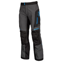 KLIM Traverse Pant - Black-Kinetik Blue