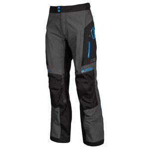 KLIM Traverse Broek - Black-Kinetik Blue