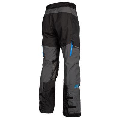 KLIM Traverse Motorcycle Pant - Black-Kinetik Blue