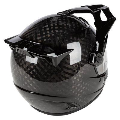 KLIM Krios Karbon Adventure helmet - Gloss Karbon Black