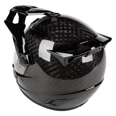 KLIM Krios Karbon Adventure Motorhelm - Gloss Karbon Black