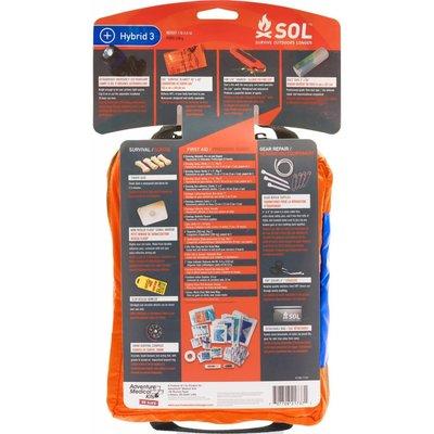 SOL Hybrid 3 3-in-1 Survival, EHBO en Reparatie Kit