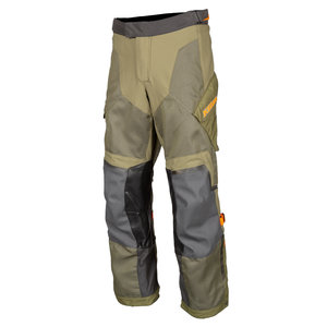 KLIM Baja S4 Pant - Sage-Strike Orange
