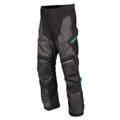 KLIM Baja S4 Motorcycle Pant - Black-Kinetik Blue