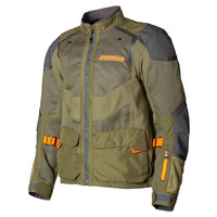 KLIM Baja S4 Jacket - Sage-Strike Orange