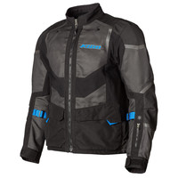 KLIM Baja S4 Jacket - Black-Kinetik Blue
