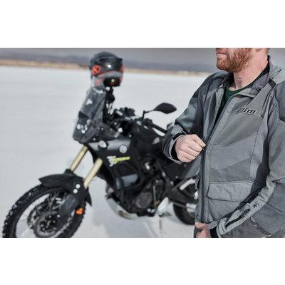 KLIM Baja S4 Motorcycle Jacket - Black-Kinetik Blue