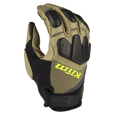 KLIM Dakar Pro Glove - Sage Hi-Vis