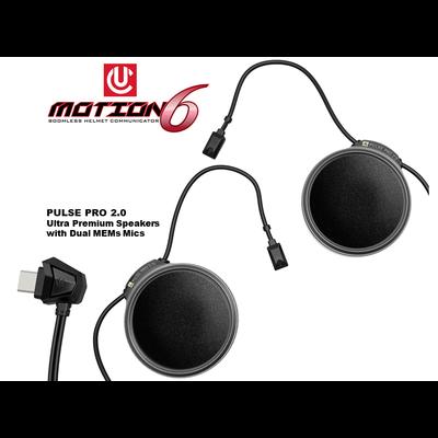 UCLEAR Motion 6 Bluetooth Helmet Audio System
