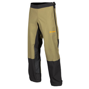 KLIM Enduro S4 Pant - Burnt Olive - Strike Orange